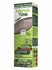 2pcsx100 Natural Henna Colour Cream Herbal Hair Colorant Dye Ready to Use 75 Ml 01 Silver Blond