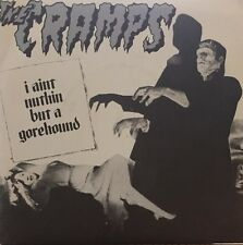 The Cramps I Ain't Nuthin But A Gorehound / Weekend On Mars New Rose Blue Vinyl