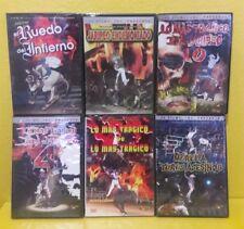Jaripeos Trajicos Muertes Musica - DVD lot 6 Videos JC Films free shipping NUEVO