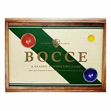 Garden Games Wooden Bocce Set Outdoor Fun New In Box