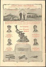CLERMONT-FERRAND VAINQUEURS DE LA COUPE INTERNATIONALE MICHELIN PUBLICITE 1913