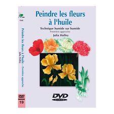 DVD - Peindre les fleurs à l'huile