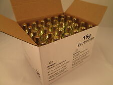 30 -  16g CO2 threaded cartridges food grade C02 Mr. Fizz soda 16 gram keg HVAC