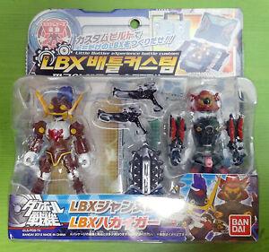 Bandai Little Battlers eXperience(LBX) battle custom : JEANNE D+HAKAIGER Figure