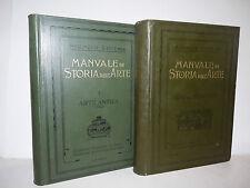 Saggio Arte, Springer Ricci: Manuale di Storia dell'Arte 2 voll 1910 seconda ed.