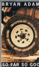 MC=BRYAN ADAMS so far so good 1993 A&M HOLLAND 540 157-4 NO cd lp dvd vhs