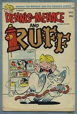 Dennis the Menace and His Friends Series #11 (Aug 1971 Fawcett) [Ruff] Ketcham s