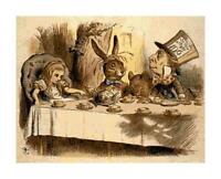 Alice in Wonderland & Mad Hatter DIGITAL Counted Cross-Stitch Pattern