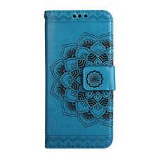 Fundas con tapa Para Samsung Galaxy S6 color principal azul para teléfonos móviles y PDAs