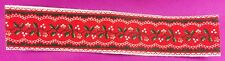 Dollhouse Miniature 1:12 Scale Red Runner Rug