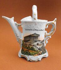 Vecchio souvenir, porcellane, bambini stoviglie, Valalla, 1900, Annaffiatoio, Regensburg, Top + +