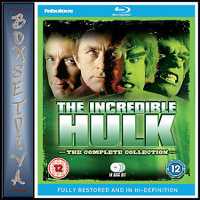 THE INCREDIBLE HULK -THE COMPLETE COLLECTION- FULLY RESTORED *BRAND NEW BLURAY**