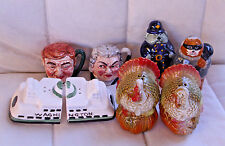 4 X vintage sets of figural Salt & Pepper shakers....sold as 1 Lot