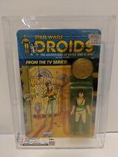 Vintage Star Wars 1985 CAS 75/85/90 KEA MOLL DROIDS Cartoon TV series MOC kenner