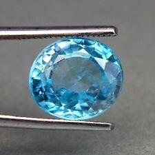 TOP BIG ZIRCONE : 7,47 Ct Natürlicher Blau Zirkon aus Kambodscha