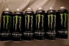 12 MEGA MONSTER ENERGY DRINK 24oz CANS WITH CAP ALL EMPTY & Cleaned