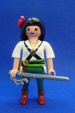 Playmobil J-85 Pirate Woman Figure Sword Action 6683