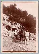 France, Thorenc (Andon), Carrière à Thorenc  Vintage citrate print. Alpes Mariti