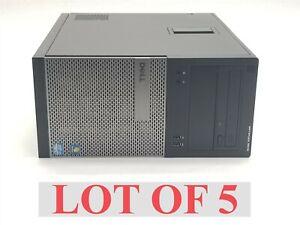 Dell OptiPlex 3010 MT Intel Core i5-3450 3.10GHz 8GB 500GB Win 10 Computer Lot 5