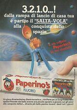 X2391 Dentifricio PAPERINO'S regala il Salta Vola - Pubblicità 1988 - Advertis.