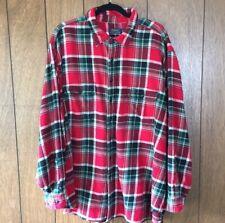 3XB Polo Ralph Lauren Red Plaid Flannel Shirt