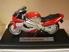 YAMAHA Thunderace 1000 rot silber  2001   !! 1:18 Welly
