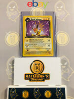 Dark Jolteon 38/82 1st Edition NM to MINT Team Rocket Non-Holo Pokemon