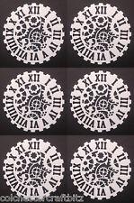 6 Gear Clock Die Cuts