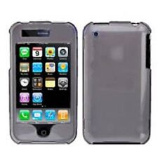 Hard Rubberized Case for iPhone 3G / 3GS - Smoke