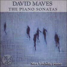 Max Lifchitz-David Maves: The Piano Sonatas CD NEW   #N2