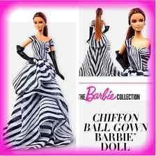 2016 Platinum Chiffon Ball Gown Barbie Doll. Unopened shipper. Smoke & pet free