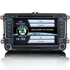 Skoda Fabia Mk2 Estéreo interfaz de usuario de estilo Original DVD Radio Bluetooth Estéreo GPS SatNav