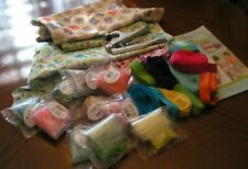 New ListingLot of Babyville Diaper Cover Supplies, Book, Fabric, Elastic, Snaps, Tool