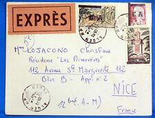 SOBRE ARGELIA RAZÓN EA 1962 ARGEL EXPRESS OA15
