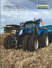 Farm Tractor Brochure - New Holland - T8.275 et al T8 series - 2012 (F5507)