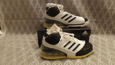 NIB  Adidas TEAM BOUNCE 43433 White Leather Basketball Shoes sz 9.5 D NEW