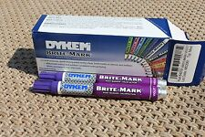 Dykem Brite Mark 2pk Industrial and All  Purpose Paint Markers (VIOLET)