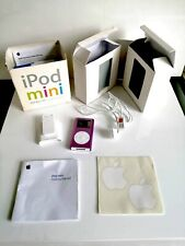 4TH GENERATION APPLE IPOD MINI BABY PINK 4GB WITH ORIGINAL BOX LEADS ACCESSORIES