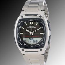 ad8c1fac4037 Reloj Casio AW-81D-1AV Analógico Digital Hombre Negro Telememo 30 Acier  Nuevo