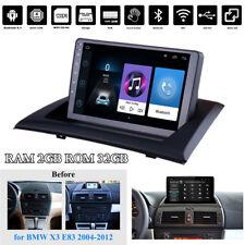 9'' Android 9.1 Quad-core 2+32GB Car Stereo Radio GPS Nav For BMW X3 E83 2004-12