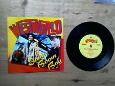 "Westworld Sonic Boom Boy Mission Impossible 7"" Single EX Vinyl Record BOOM 1 P/S"