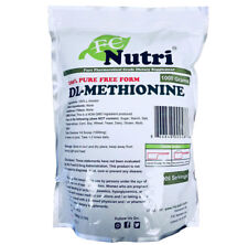 DL-Methionine Powder 100%pure 2.2lb (1000 grams) By FDCNutri