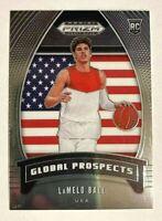 2020-21 Panini Prizm Draft #98 Lamello Ball RC Rookie Global Prospects USA ROY