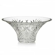 HOUSE of WATERFORD CRYSTAL MELISSA FLARED DIAMOND & FAN CUT BOWL IN ORIGINAL BOX