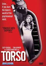 Torso (DVD 2010) All regions Giallo UNCUT version Sergio Martino Suzy Kendall