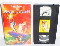 VHS Videokassette Der König der Löwen mit Hologramm Walt Disneys Meisterwerke