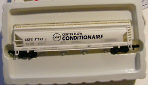 New Rare N Scale Conditionaire 56' Center Flow Hopper in Org. Box File 3506