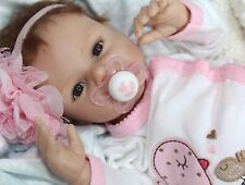 """TWINKLE TIME!""- Adorable 17"" Collectors Life Like Baby Girl Doll + 2 Outfits"