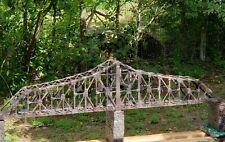 "M1910' Bridge diorama. 2 tracks Ho gauge,""Make & Offer"" @ $475.00 Sale!"