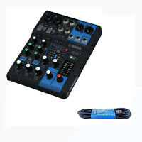 Yamaha MG06X 6 Channel Stereo Mixer with Effects Six-Input Mixer FREE XLR Cable